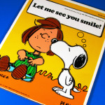 Snoopy kissing Peppermint Patty Wooden Tray Puzzle