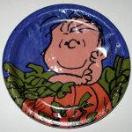 Linus in Halloween Pumpkin Patch Dessert Plates