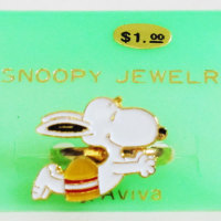 Snoopy swimmer diving Ring