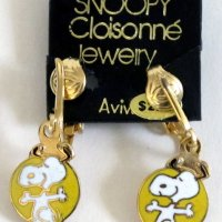 Snoopy dancing Clip-on Earrings