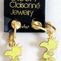 Woodstock Clip-on Earrings