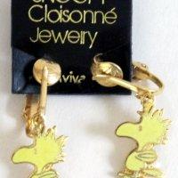 Woodstock Clip-on Earrings