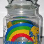 Snoopy & Woodstock Rainbow Goodies Jar