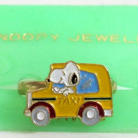 Snoopy taxi driver Ring