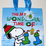Snoopy & Woodstock with Stockings