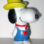 Snoopy Farmer Squeaky Toy