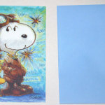 Snoopy Flying Ace and Woodstock Greeting Card