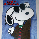 Snoopy Joe Cool Brother Birthday Greeting Card