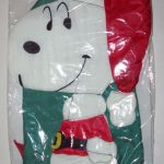 Santa Snoopy Vintage Windsock