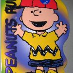 Charlie Brown wearing Baseball cap Coloring Book