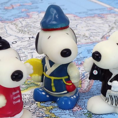 Korea Snoopy World Tour Series 1 Toy