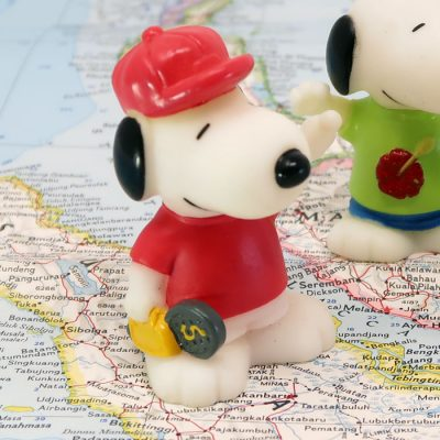 Indonesia Snoopy World Tour Series 1 Toy
