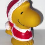 Santa Woodstock Squeaky Toy