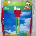 Snoopy & Woodstock on doghouse Windsock