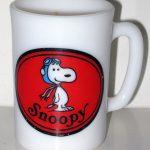 Snoopy Flying Ace Avon Shaving Mug