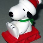 Snoopy on Sled Ornament