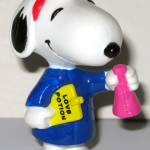 Snoopy Scientist with Love Potion PVC Figurine