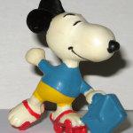 Rollerskating Snoopy PVC Figurine