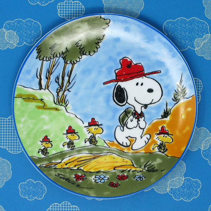 Snoopy and the Beaglescouts Plate
