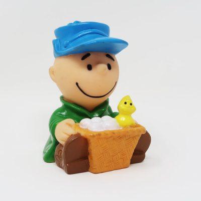 Charlie Brown's Egg Basket McDonald's Toy