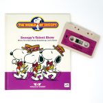 Snoopy's Talent Show Tape and Book