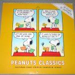 Peanuts Classics 1990 40th Anniversary Calendar
