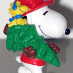 Snoopy & Woodstock carrying Christmas Tree Ornament