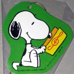 Snoopy reading sheet music Gift Tag