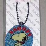 Snoopy wearing handkerchief Keychain