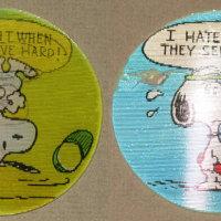 Snoopy Tennis Flasher Keychain
