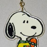 Snoopy Skateboarder Keychain