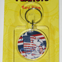 Snoopy American Beagle Keychain
