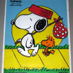 Snoopy and Woodstock Wooden Tray Puzzle