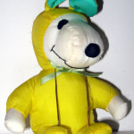 Snoopy yellow and green Easter Beagle Plush