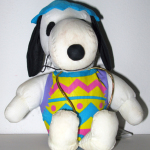 Snoopy dressed as Easter Egg Plush