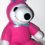 Snoopy pink and blue Easter Beagle Plush