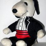 Snoopy in tux Valentine's Day Plush