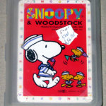 Snoopy with whistle and Woodstocks in sailor outfits Playing Cards