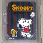 Snoopy and Woodstock Singing Mini Playing Cards