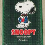 Snoopy in Plaid Jacket Mini Playing Cards
