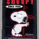 Snoopy Leaning Against a Wall 'Since 1950′ Mini Playing Cards