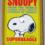 Snoopy SUPERBEAGLE Mini Playing Cards