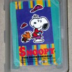 Snoopy the Superbeagle and Woodstock Mini Playing Cards