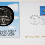 Snoopy 2001 First Day Cover Stamp and Coin Set