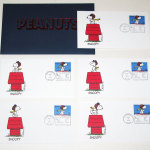 Snoopy First Day Covers 5 Stamp Set