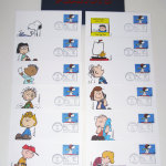 Peanuts Gang First Day Covers 12 Stamp Set