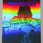 Snoopy for President Hologram Card