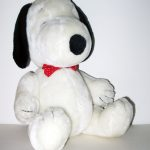 Jointed Snoopy with Bow Tie Plush Toy