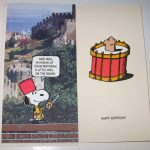 Snoopy 'Roll on the Drum' Birthday Card