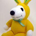 Snoopy yellow & green Easter Beagle Plush